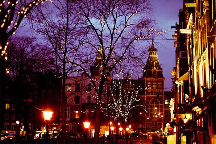 Christmas in Amsterdam, Netherlands