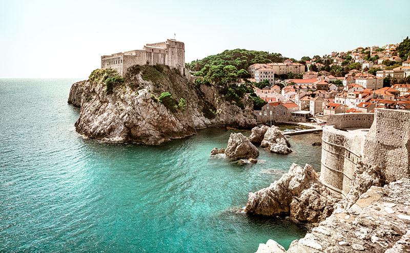 Kings Landig; Dubrovnik city walls
