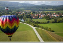Experience magic locations in an air adventure of your choosing