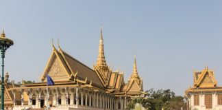 Phnom Penh Rroyal Palace, Cambodia